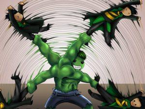 Hulk vs Loki